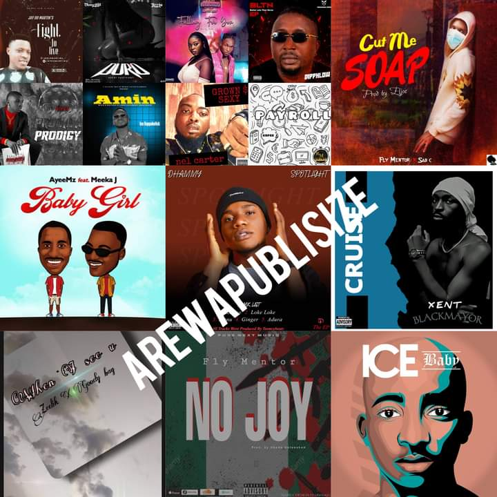 [Music Chart] #Arewapublisize top 15 songs for August 2021 - Hosted by Hypeman vizzy