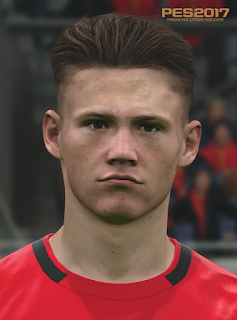 PES 2017 Faces Scott McTominay by Love01010100