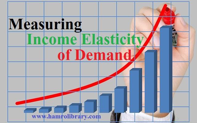 measurement-of-income-elasticity-of-demand