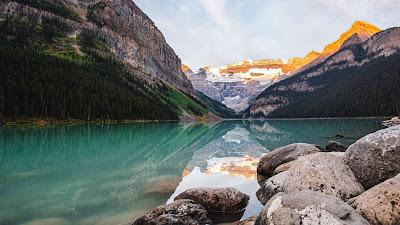 HD Wallpaper Mountains, Lake, Reflection, Landscape