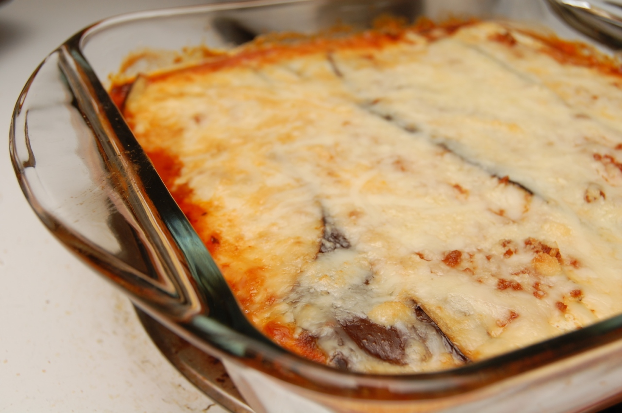Eggplant Lasagna is Low Carb and Gluten Free