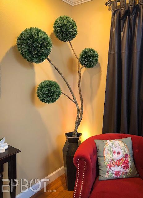 Epbot Diy Topiary Tree Using Yard Trash Paper