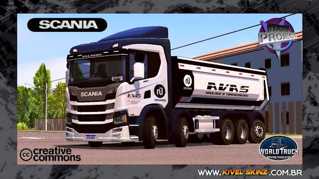 SCANIA P320 CAÇAMBA - AVAS HAULAGE & TRANSPORTING