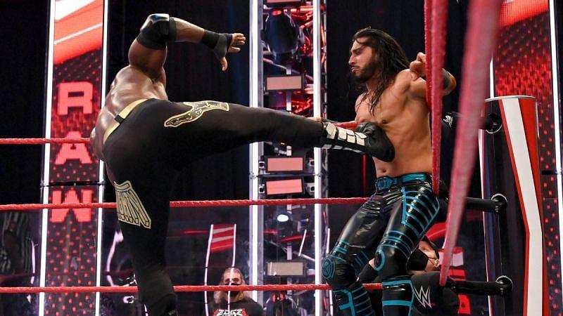 Mustafa Ali shares image of injury he sustained during match with Bobby Lashley