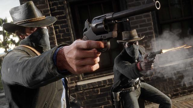 Red Dead Redemption Gun Fight Scene