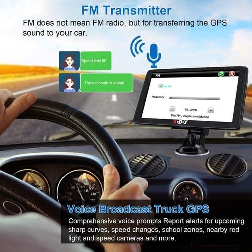 Xgody GPS Navigation for Car Truck