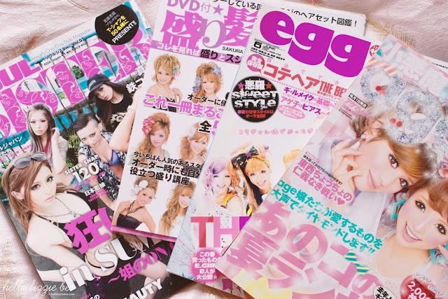 gyaru magazines