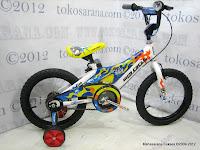1 Sepeda Anak Wimcycle Bomber 16 Inci