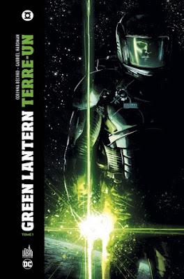 Couverture du tome 1 du comics Green Lantern Terre-Un