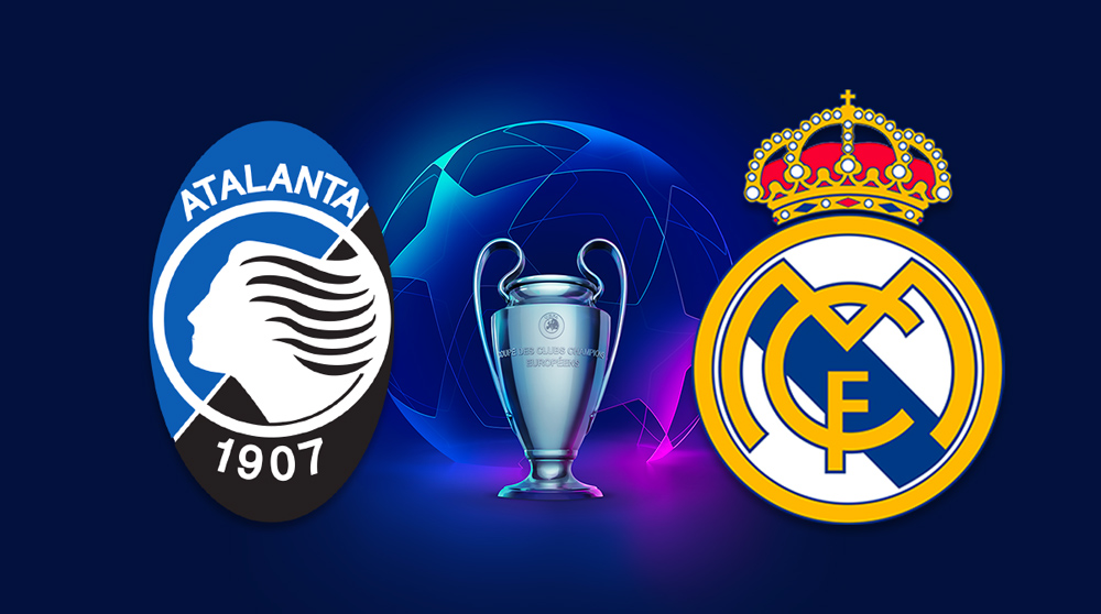 Watch the Real Madrid and Atlanta match broadcast live today 2/24/2021 in the UEFA Champions League