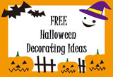 FREE HALLOWEEN DECORATING-FALL DECOR-FREE FALL IDEAS