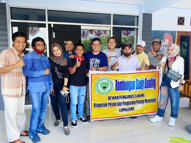DPC Hippora Lumajang Gelar Studi Banding ke Kabupaten Madiun