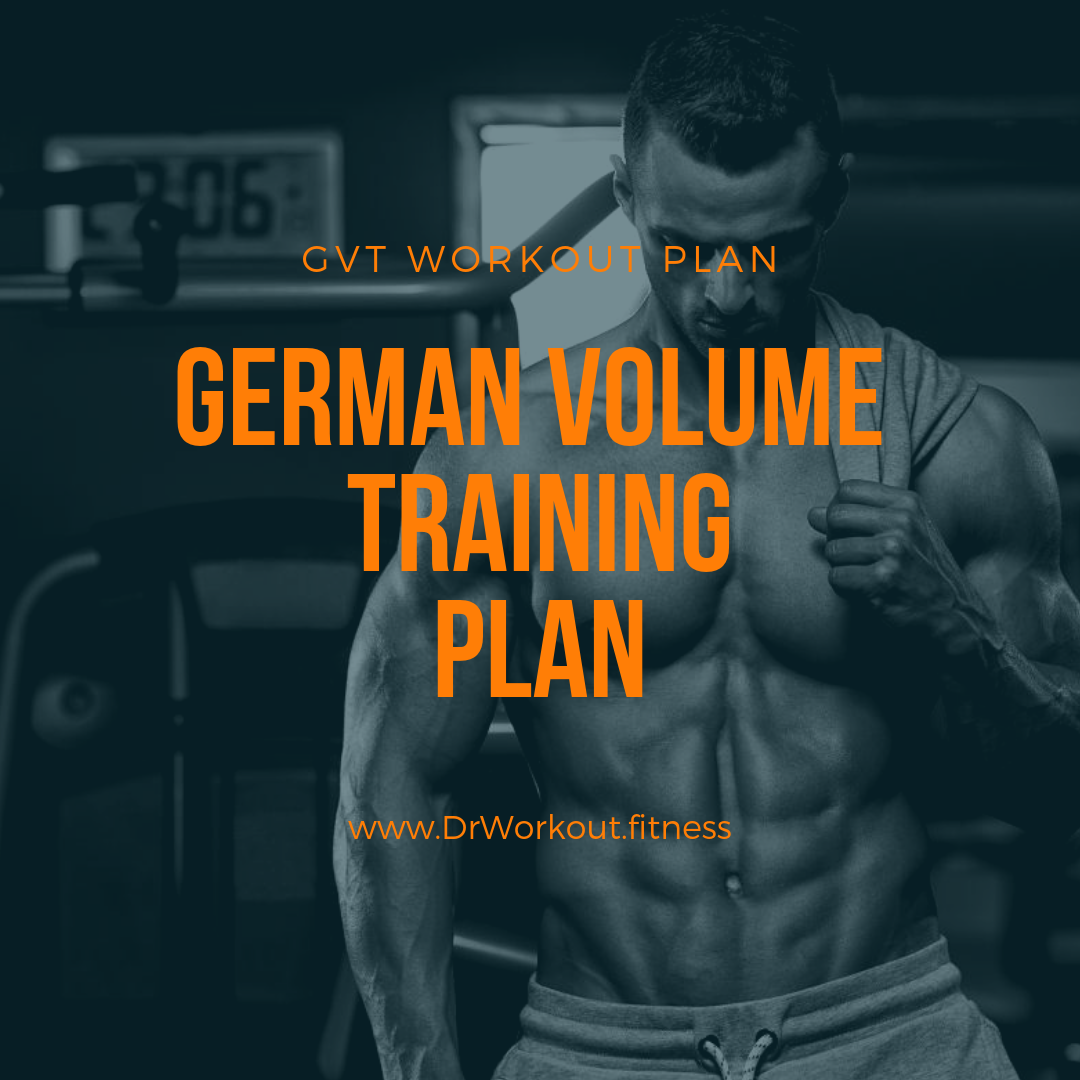 German Volume Training Workout Plan