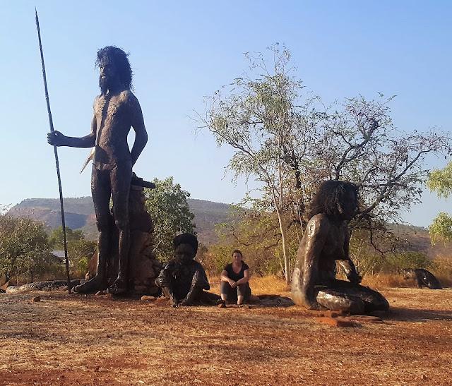 Warrui Dream Time Statues in Wyndham | Australian BIG Things