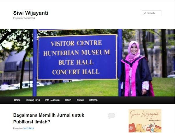 Luncurkan Website Akademis Sebagai Bentuk Kontribusi