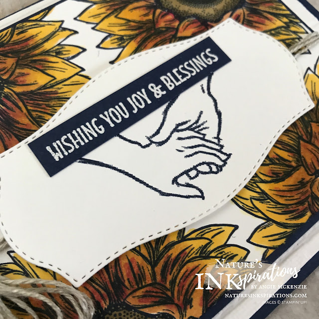 By Angie McKenzie for Kre8tors Blog Hop; Click READ or VISIT to go to my blog for details! Featuring the Celebrate Sunflowers and Embrace Each Moment stamp sets along with the Tasteful Labels dies by Stampin' Up!; #celebratesunflowersstampset #embraceeachmomentstampset #tastefullabelsdies  #naturesinkspirations #coloringwithblends #alcoholmarkers #makingotherssmileonecreationatatime #cardtechniques #stampinup #handmadecards #anniversarycards #kre8torsbloghop