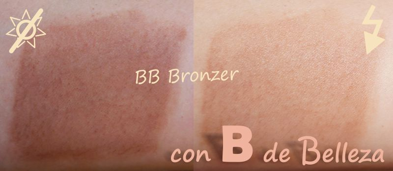 Swatches BB Bronzer