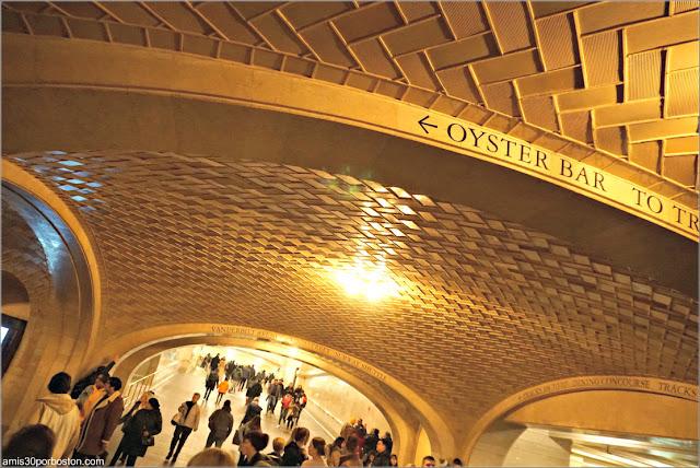 Bóvedas de Guastavino en Grand Central de Nueva York