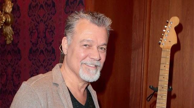 Eddie Van Halen encontra-se a lutar contra cancro na garganta