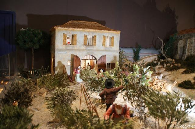 I raccoglitori di olive, santons tradizionali