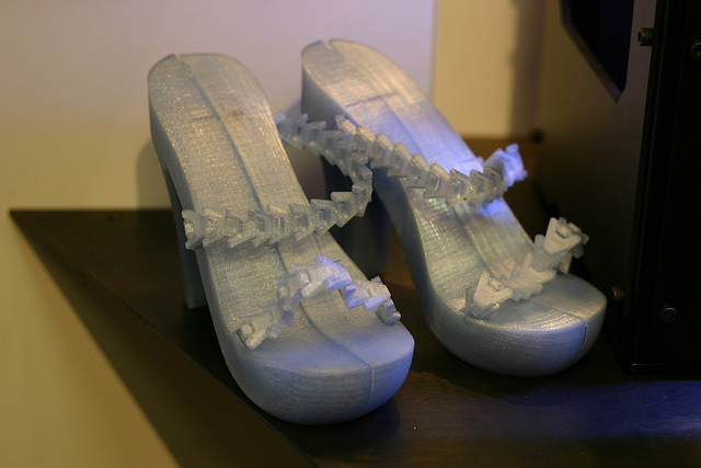 The 3D printed High Heel Sandal