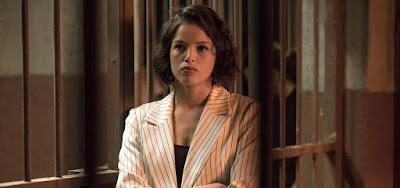 A atriz Agatha Moreira como a Josiane da novela das nove: os crimes da vilã serão julgados na penúltima semana
