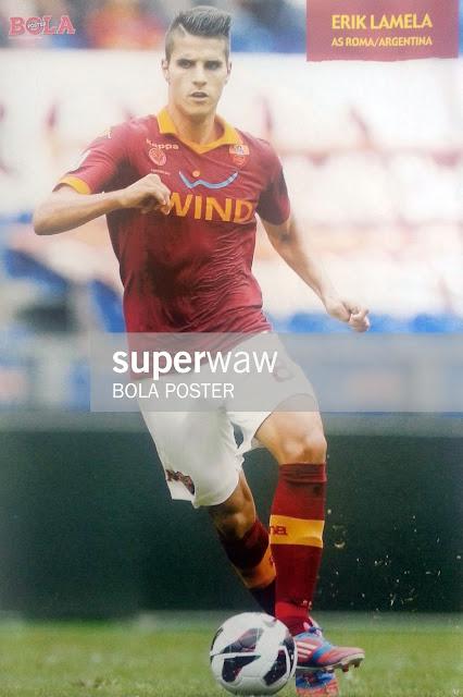 Erik Lamela AS Roma 2012