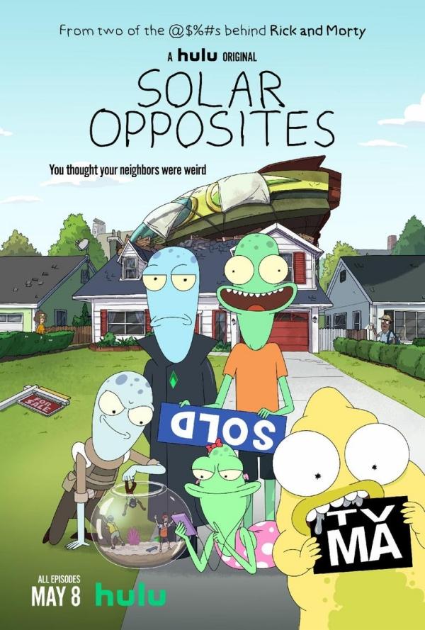 Lo nuevo de los creadores de Rick & Morty ya tiene trailer, Solar Opposites