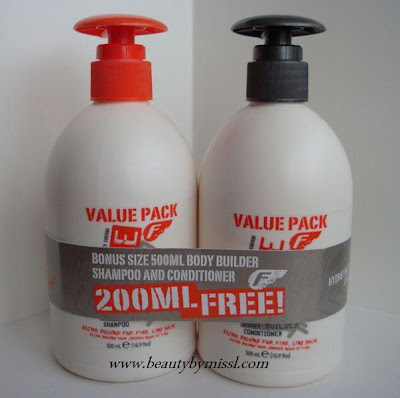 Fudge Body Builder Shampoo & Conditioner