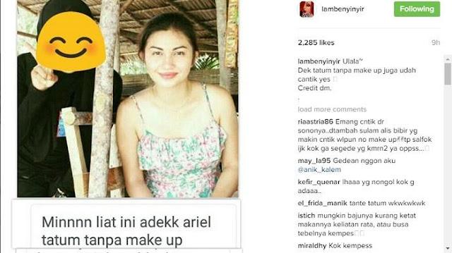 Ariel Tatum Pamer Foto Tanpa Make Up, Malah Banyak Komentar ini dari Netizen