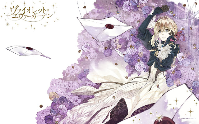 Violet Evergarden wallpaper hd