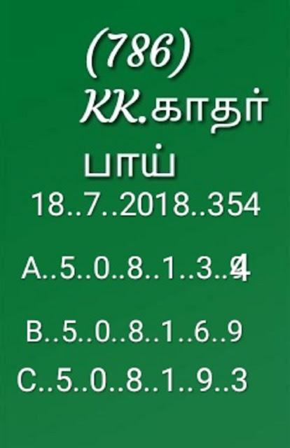 kerala lottery abc final guessing akshaya ak-354 18-07-2018 by KK