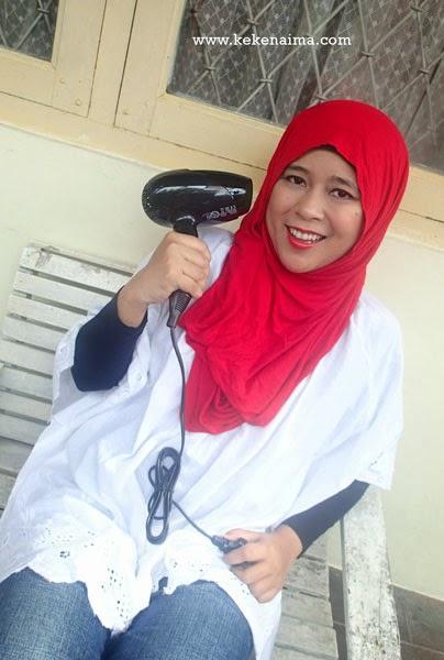 philips kerashine hair emancipation, hijab, penataan rambut