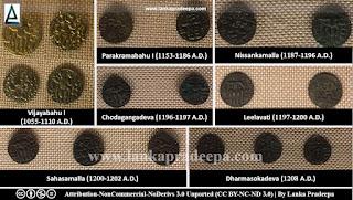 Polonnaruwa coins