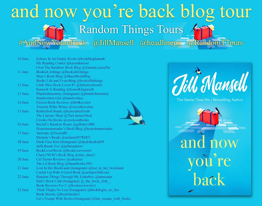 And Now You're Back Blog Tour
