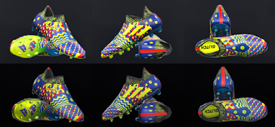 PES 2018 / PES 2017 Adidas Glitch Pack Skin 1 Jr by Tisera09