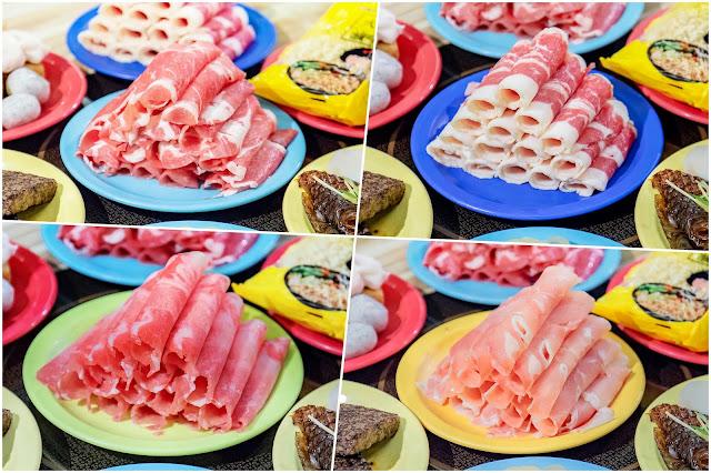 collage2 - 熱血採訪│台中人氣鴛鴦火鍋吃到飽!最低只要230元就能享用50種以上食材,而且不收服務費哦~