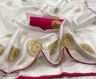 Sana Silk Embroidered Sarees