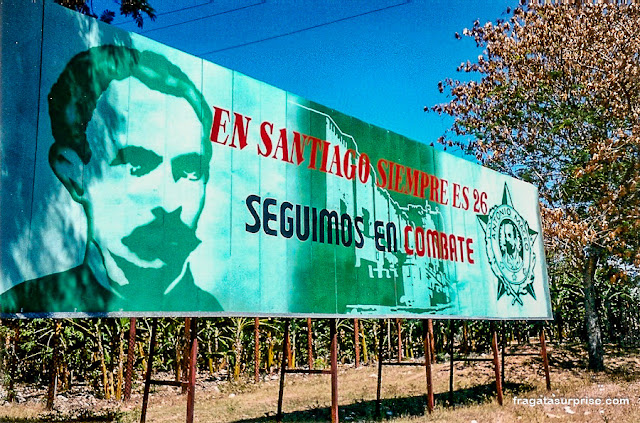 Propaganda revolucionária em Cuba