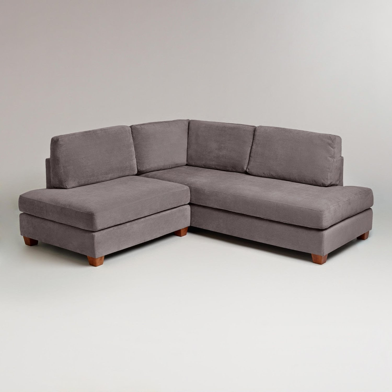 gray sofa sectional tanpa sandaran couch