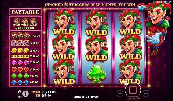 Main Gratis Slot Indonesia - Triple Jokers (Pragmatic Play)