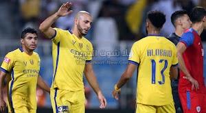 النصر يتجنب الخساره من امام ضمك بتعادل قاتل في الدوري السعودي