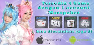 Marspoker Situs Judi Poker Domino Online Terpercaya