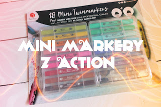 Mini markery Decotime z Action