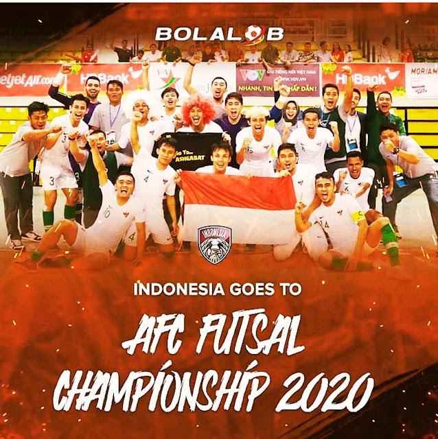 Tim Futsal Indonesia Masuk Piala Asia 2020 di Turkmenistan
