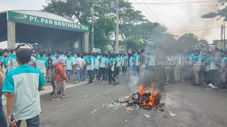 Buruh Pan Brothers Gelar Aksi Tuntut THR dan Hak Cuti