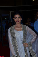 Samantha Ruth Prabhu cute in Lace Border Anarkali Dress with Koti at 64th Jio Filmfare Awards South ~  Exclusive 046.JPG