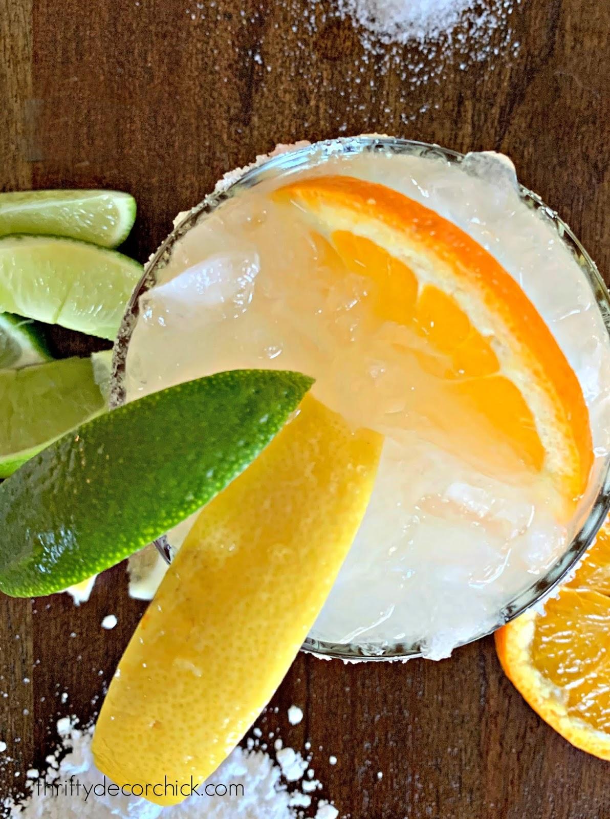 The BEST margarita recipe
