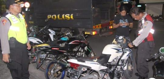 Polres Ngawi Obrak Aktifitas Balap Liar