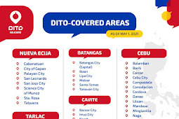Where to buy DITO Sim Cards? Coverage Areas | Compatible Phones